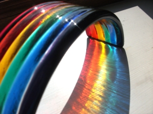 Glass rainbow
