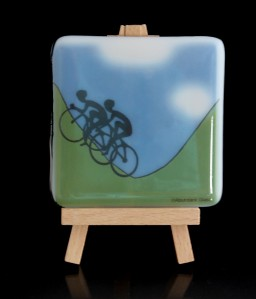 Yorkshire Cyclists coaster