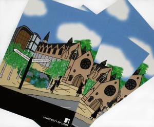 University of Leeds postcard