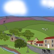 Hutton-le-Hole and Blakey Ridge